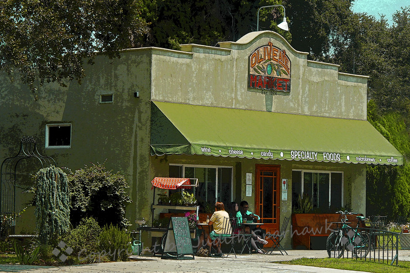 Olive Avenue Market ~ This little corner market is one of the few neighborhood markets left in Redlands.  It is now a wonderful place to go for coffee or a deli lunch, or any number of specialty food items.  It remains a charming and popular place to stop.