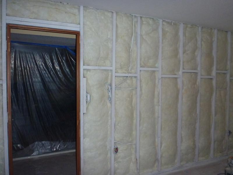 Guest bedroom insulation