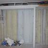 Closet area basement SE guest room