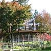 After: Deck spans entire back side of house.