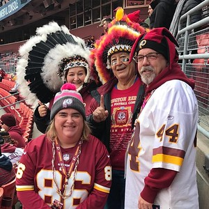 Redskins 2017 (1st yr Season Ticket)