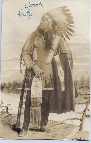 1915 Lone Star Dietz Postcard