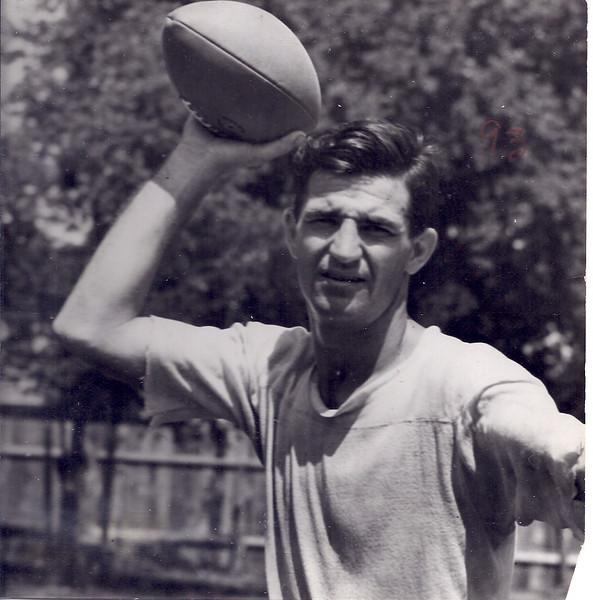 1945 Redskins Press Photo Sammy Baugh