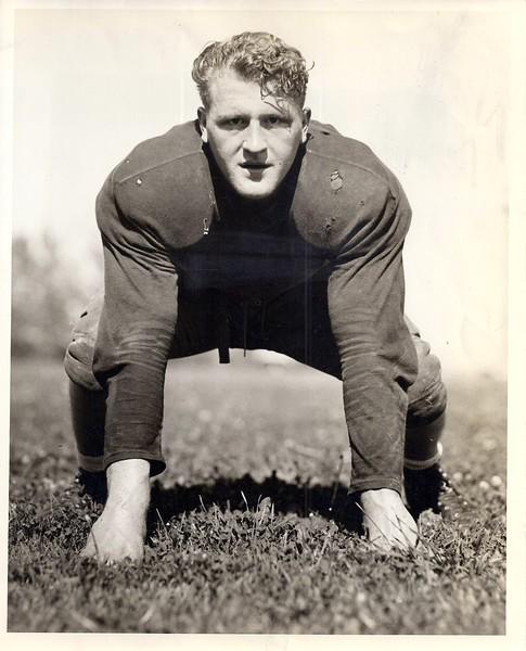 1938 Press Photo Dick Farman