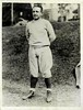 Dutch Bergman 1930 Press Photo Catholic University Head Coach