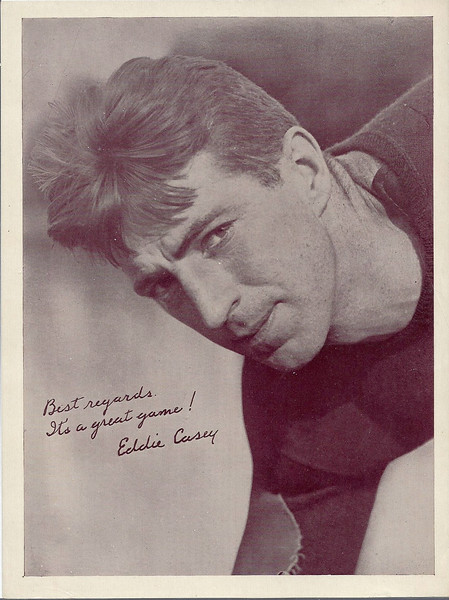 Eddie Casey 1935 National Chicle Premium Photos R311-2