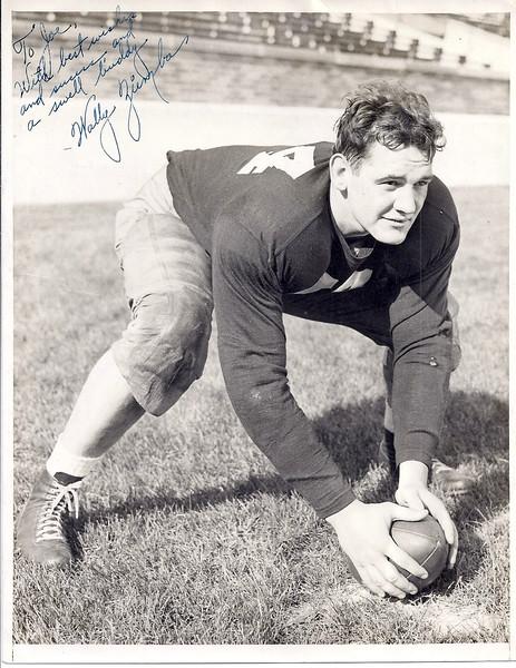 Wally Ziemba 1940s Press Photo