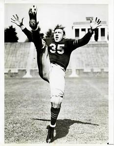 Bill Dudley 1940s University of Virginia Football  Press Photo