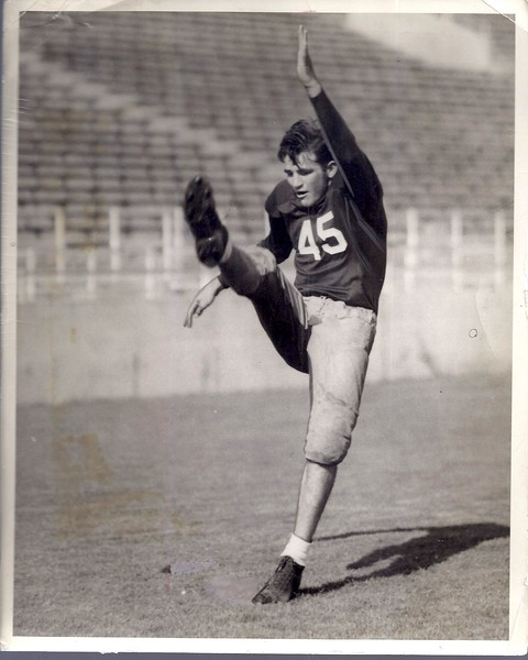 Sammy Baugh 1936 Press Photo