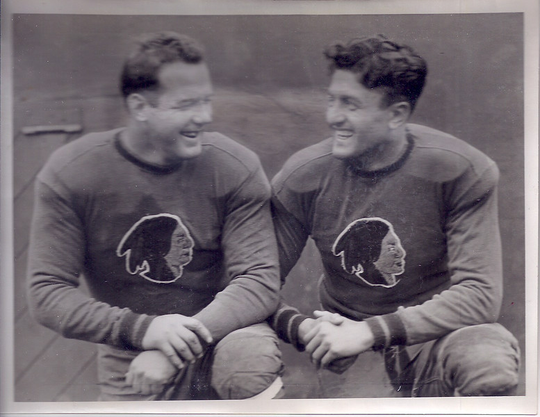 1935 Redskins Press Photo