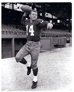 Eddie LeBaron 1950s Redskins Team Issue Photo