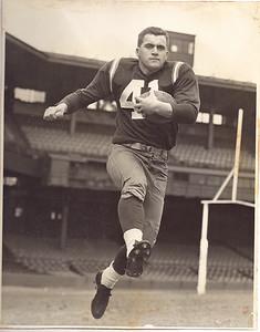 1950s Redskins Team Issue Photo Billy Wells