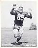 Bob Dee 1957 Redskins Team Issue Photo