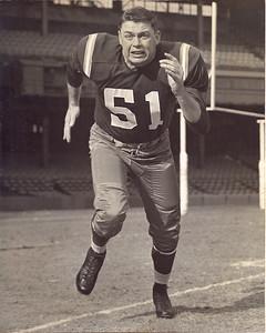 Jim Schrader 1950s Redskins Team Issue Photo