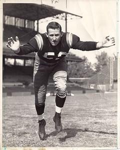 Johnny Allen 1958 Redskins Team Issue Photo