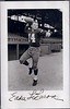 Eddie LeBaron 1957 Redskins Team Issue Real Picture Postcard