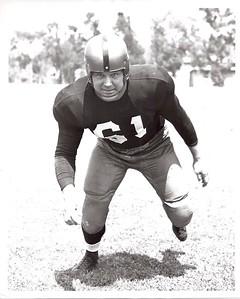 Gene Pepper 1951 Redskins Team Issue Photo