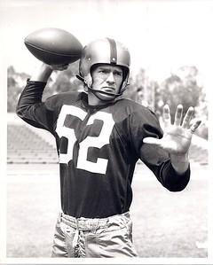 Harry Gilmer 1951 Redskins Team Issue Photo