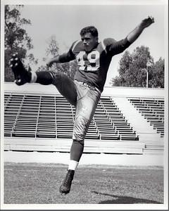 1950s Redskins Team Issue Sam Baker