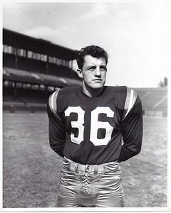 Chuck Drazenovich 1950s Redskins Team Issue