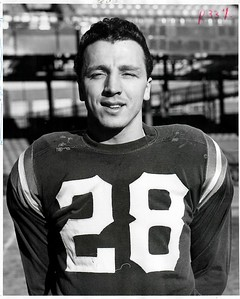 Joe Scudero 1957 Redskins Team Issue Photo