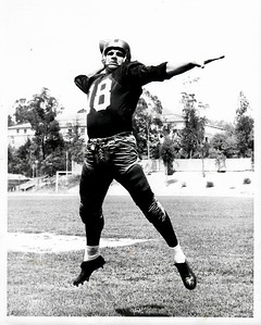 Jack Scarbath 1954 Redskins Team Issue Photo