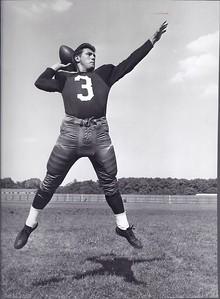 Ralph Guglielmi 1955 Redskins Team Issue Photo