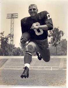 Johnny Olszewski 1958 Redskins Team Issue Photo