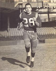 Joe Scudero 1950s Redskins Team Issue