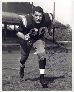 1950s Redskins Team Issue Gene Brito