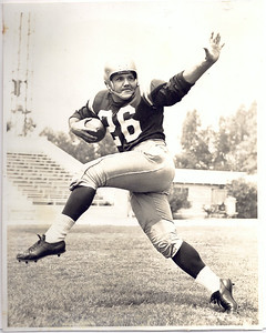 "Langdon ""Zip"" Viracola 1956 Redskins Team Issue"