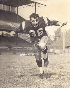 1950s Redskins Team Issue Chuck Drazenovich