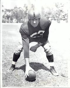 Al DeMao 1950 Team Issue Photo