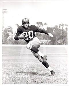 George Thomas 1951 Redskins Team Issue Photo