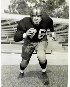 Paul Lipscomb 1951 Redskins Team Issue Photo