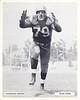Volney Peters 1957 Redskins Team Issue Photo