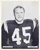 Ralph Felton 1957 Redskins Team Issue Photo