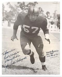 John Badaczewski 1952 Redskins Team Issue Photo