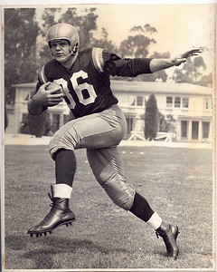 Steve Meilinger 1956 Redskins Team Issue