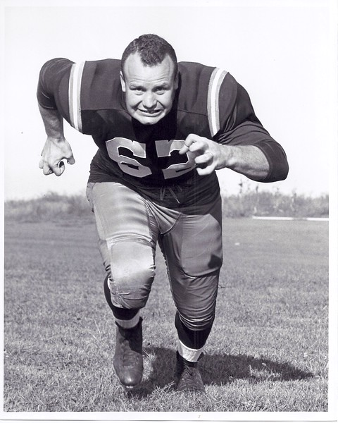 Don Boll 1957 Redskins Team Issue Photo