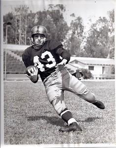 John Williams 1952 Redskins Team Issue Photo