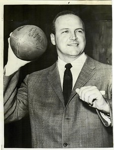 Bill McPeak 1960 Press Photo