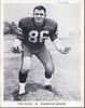 1962 Redskins Team Issue Photo John Paluck