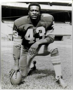 Larry Brown 1969 Redskins Team Issue Photo