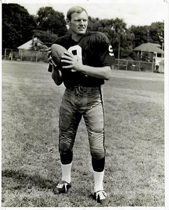 Sonny Jurgensen 1960s Redskins Team Issue Photo