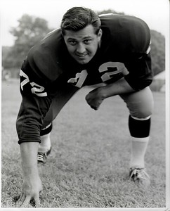 Joe Rutgens 1960s Redskins Team Issue Photo