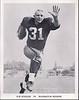 1962 Redskins Team Issue Photo Don Bosseler