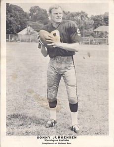 Sonny Jurgensen 1968 National Beer Promotional Photo