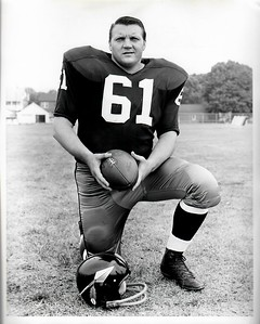 Fran O'Brien 1960s Redskins Team Issue Photo