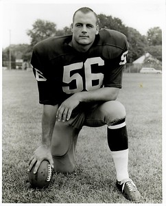 Len Hauss 1960s Redskins Team Issue Photo